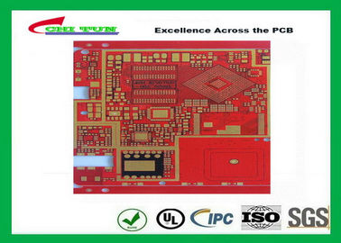 China Multilayer Pcb Manufacturing Impandence Control Circuit Board Pcb Layout Red Colour Supplier