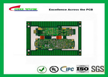 China Immersion Gold Rigid-Flexible PCB Green 8 Layer PCB Circuit Board Supplier