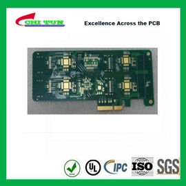 China 4L Fr4 IMMERSION GOLD + GOLD FINGER Multilayer PCB Printed Circuit Board Supplier
