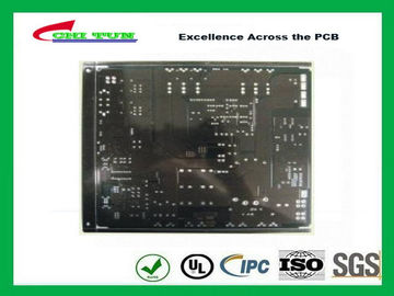 China Black Solder Mask Quick Turn Pcb Assembly 2 Layer Fr4 1.6mm Lead Free Hasl Supplier