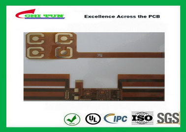 China Flexible Circuit Boards Single Sided with Polyimide and Immersion Gold Supplier