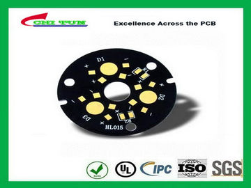 China Power Supply PCB Board High Temperatures with Black Solder Mask Immersion Gold Supplier