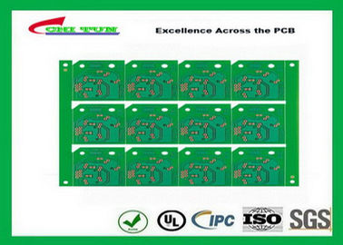 China Custom Single Sided PCB With Cem-1 1.2mm Osp Surface v-Cut Cnc Board Supplier