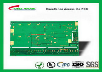 China Multilayer Printed Circuit Board FR4 1.2MM Immersion gold green solder mask Supplier