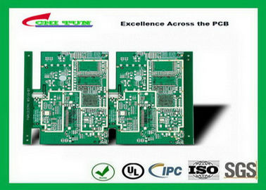 China GPS Printed Circuit board  8layer FR4TG150 1.6MM Immersion Gold green solder mask Supplier