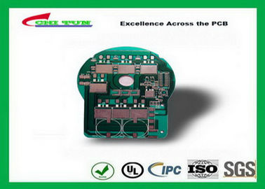 China LED Aluminum PCB Board Printed Circuit Board with 1.2MM 1W Green Solder Mask Supplier