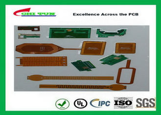 China Flexible Printed Circuit Boards With Polyimidehigh Tg Polyimide Ni / Au , Enig , Tin Plating Surface Treatment Supplier