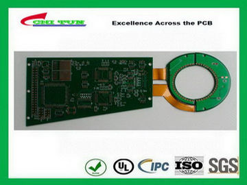 China Rigid-Flexible Circuit Board Design Fabrication and Assembly Immersion Gold PCB Supplier