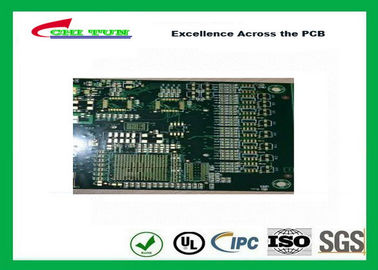 "China Motherboard 8 Layer Base material FR4 Multilayer PCB TG170 5u"" Gold and Impedance Supplier"