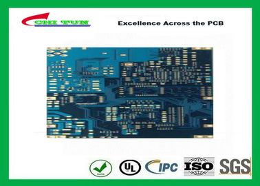 China Min Hole Size 0.15mm Multilayer PCB with Full Circuit Board Resin Plug Hole 4 Layer Supplier