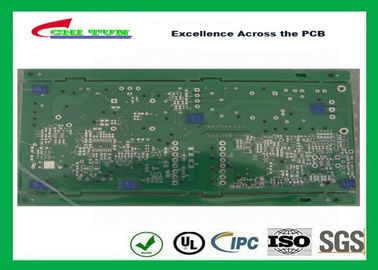 China Peelable Blue Solder Mask Special Double Sided PCB with 2L HASL DSP Board Supplier