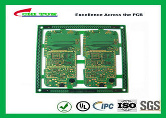 China Mobile Phone Circuit Board Multilayer PCB FR4 1.2MM 0.1MM Hole Size ENIG Supplier