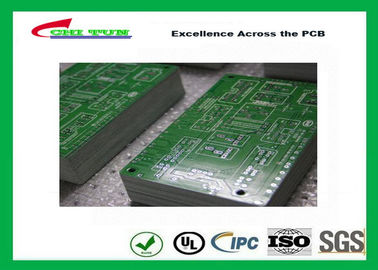 China Computer Quick Turn PCB Fabrication 0.35mm Min Hole Lead Free HASL Supplier