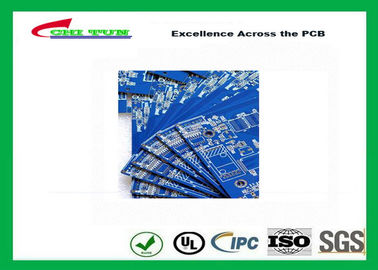 China Blue Solder Mask Double Sided PCB FR4 1.6mm Board Thickness , Making PCB Boards Supplier