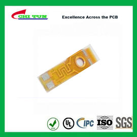 China Single Layer PCB Flexible PCB for Motor of Phone Plating Gold 0.5oz Copper Supplier