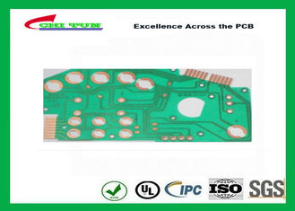 China OSP Rigid-Flex Printed Circuit Board for Car 5mil PET Material Supplier