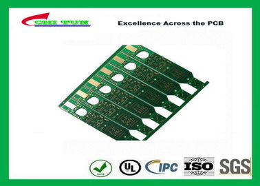 China 2 Layer Flash Gold PCB Green Solder Mask Quick Turn PCB Prototypes Fiducial Marks Add Supplier
