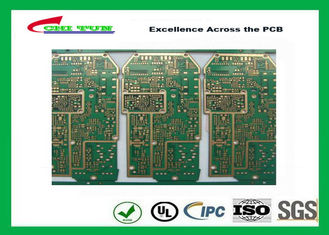 China PCB Design And Fabrication PCB Engineering 6 Layer Hard Gold Surface Treatment Supplier