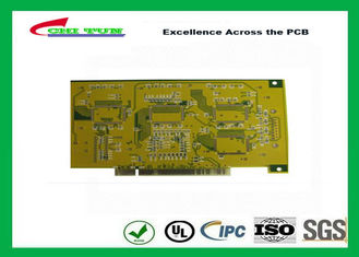 China Gold Finger PCB for Computer 4 Layer PCB Thickness 1.6mm Immersion Gold UL , ROHS , ISO Supplier