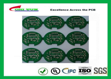 China 2 Layer Lead Free HASL Custom Printed Circuit Board PCB Material FR4 1.6MM Green Solder Mask Supplier