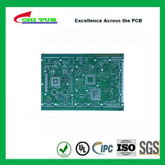 China Single Layer PCB Design Bare FR4 1.6MM HASL PCB Green Solder Mask Supplier