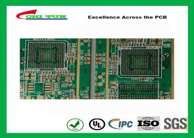 China Printed circuit board fabrication 4L FR4 1.6mm Electronic PCB RoHs Supplier