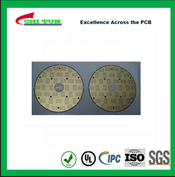 2 Layer Double Sided PCB FR4 IT180 1.57mm Thickness Immersion Gold