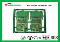 Mobile Phone Circuit Board Multilayer PCB FR4 1.2MM 0.1MM Hole Size ENIG