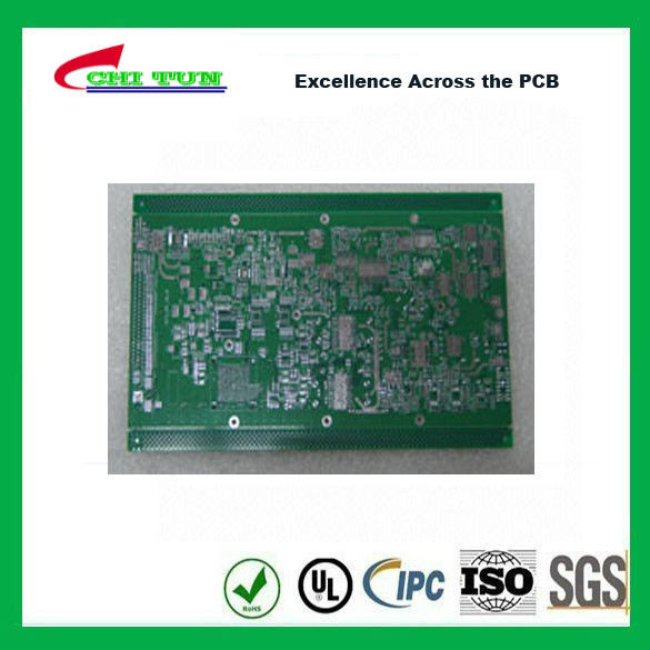 Professional Making 8 Layer Quick Turn PCB Prototypes Lead Free HASL
