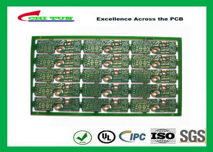 Professional 2 Layer PCB Board FR4 2 0MM Gold Surface Finish General