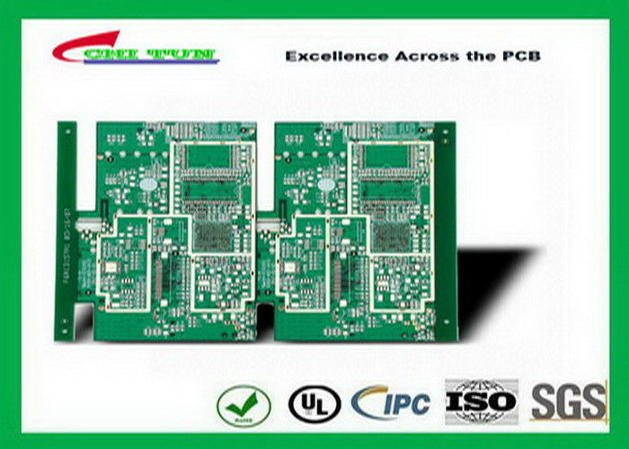 professional gps printed circuit board 8layer fr4tg150 1 6mm