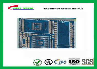 Good Quality PCB Fabrication And Assembly Printed Circuit Board Assemblies 6 Layer Blue Solder Mask Suppliers