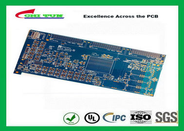 Good Quality Blue 20 Layer Quick Turn PCB Prototypes 3.5MM Immersion Gold 0.25mm Hole Suppliers