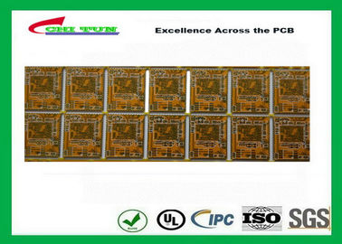 Good Quality Yellow Multilayer PCB 4 Layer Bluetooth Printed Circuit Board With BGA And Half Holes Suppliers