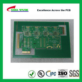 Good Quality Aeronautics Printed Circuit Board 8L FR4 Immersion Gold + Hard Gold Quick Turn Pcb Suppliers