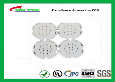 Good Quality 1 Layer PCB LED Aluminium Base Printed Circuit Board , White Solder Mask Suppliers
