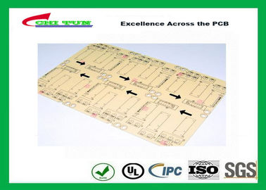 Good Quality CNC / V-CUT Surface Finish Single Sided Printed Circuit Board with Black Sillkscreen Suppliers